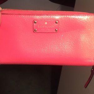 Kate spade large wallet